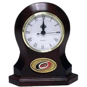 Carolina Hurricanes NHL Desk Clock