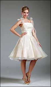 111   Mini Bridesmaid Prom Gown Evening dress