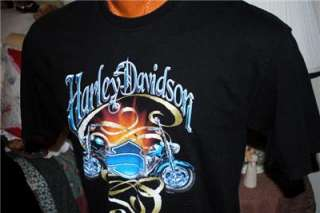 DAVIDSON MOTORCYCLE T SHIRT MEMPHIS, TN Sz L  IN TH U.S