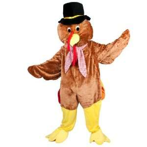 Thanksgiving Turkey Adult Mascot Costume