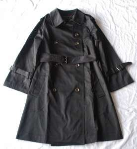 AUTH Marc by Jacobs Runway Military Trench Coat S BLK