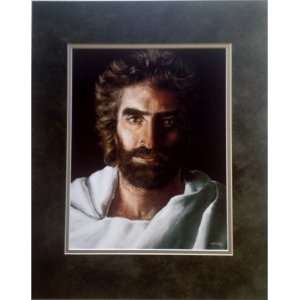 Jesus Prince of Peace Double Matted, 16 X 20 Print   Jesus