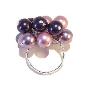 The Black Cat Jewellery Store Purple, Pink & Mauve Swarovski Pearl