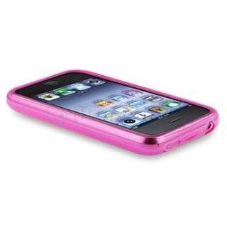 Lattice Silicone Case For Apple iPhone 3G 3GS Accessory Purple Green