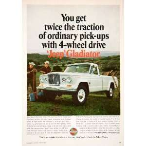 1966 Ad Kaiser Jeep Gladiator Pickup Truck Automobile Vehicle Valley