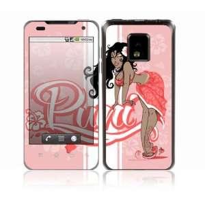 LG Optimus 2X Decal Skin Sticker   Puni Doll Pink