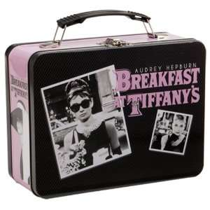 Vandor Audrey Hepburn Breakfast at Tiffanys Large Tin Tote, 7 by 9 by