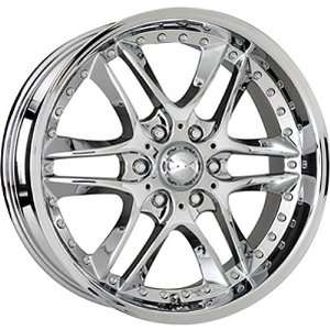 American Racing Orleans 20x8.5 Chrome Wheel / Rim 6x5.5 with a 18mm
