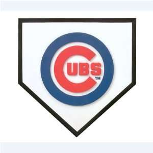 America Chicago Cubs 12 Home Plate Stepping Stone Sports & Outdoors