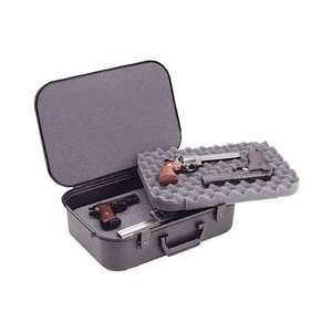 XLT 18 4 Pistol Gun Case, Keylock Latches, Black, Warranty