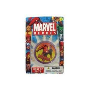 Marvel Heros Iron Man Yoyo   Light Up Yo yo Toys & Games