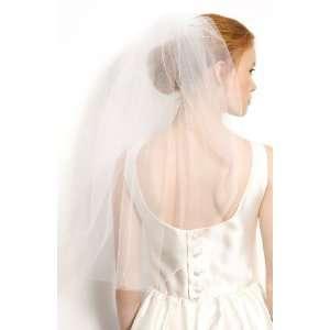 Bridal Audrey Veil Diamond White for Brides Wedding Dress   One Tier