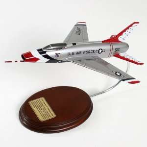 100D Super Sabre Desktop Model Plane  Toys & Games