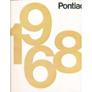1968 Poniac Sales Brochure   Bonneville Grand Prix LeMans