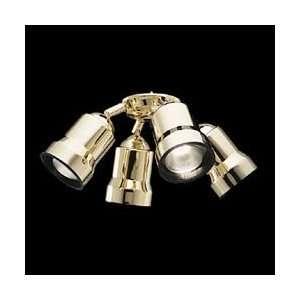 Casablanca K4B 8 Matte Black Brasswinds Fan Light Kit