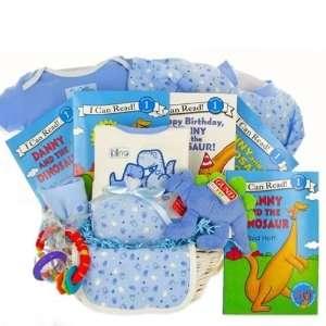 Danny the Dinosaur New Baby Boy Gift Basket   Great Shower