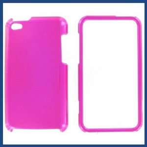 Apple iPod Touch 4 Hot Pink Protective Case Camera