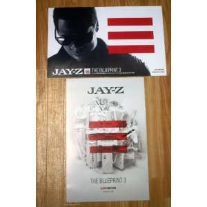 Big pimpin jay z on popscreen jay z the blueprint 3 11 by 17 inch promotional poster malvernweather Choice Image
