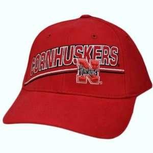 NCAA Nebraska Cornhuskers Huskers Big Red Hat Cap