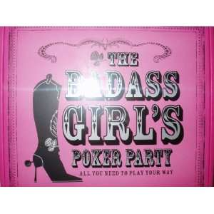 The Badass Girls Poker Party Game Kit Everything Else
