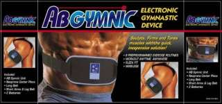 ABGYMNIC MUSCLE TONING AB BELT TENS CONDUCTIVE GEL