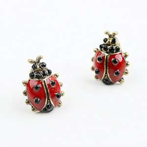 Lots 24 pairs of beautiful Retro Red Beatles Earrings