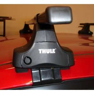 Complete Thule Traverse roof rack w/ Fit Kit & Load Bars Automotive