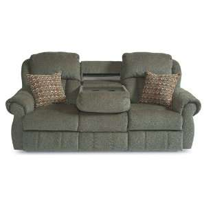 Double Reclining Sofa with Fold Down Tray Table by Lane