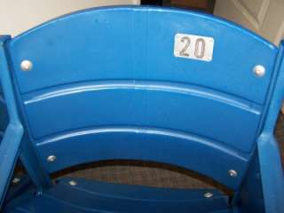 AUTHENTIC VETERANS STADIUM END SEATS w/ Liberty Bell Logo Eagles
