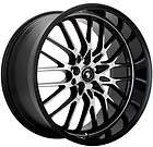 19x9.5 Konig Lace Black Wheel/Rim(s) 5x114.3 5 114.3 5x4.5 19 9.5