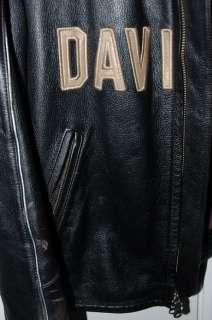 Harley Davidson Leather Jacket 100th Anniversary CENTENNIAL Huge