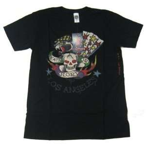 New Ed Hardy Men Shirt Los Angeles Black: Everything Else