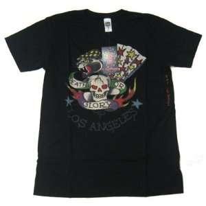 New Ed Hardy Men Shirt Los Angeles Black