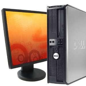 Dell 745 Desktop Dual Core 2 8Ghz 4GB RAM Windows 7 19 LCD