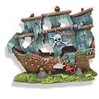 Sunken Pirate Ghost Ship 1521 ~ aquarium ornament fish tank decoration