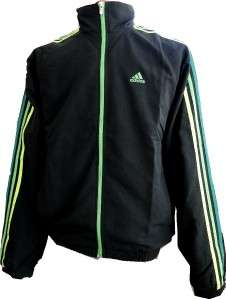 Mens $90 ADIDAS Essential 3 Stripe Woven WARM UP SUIT Track JACKET