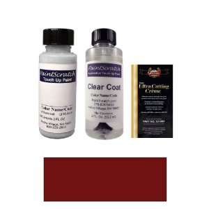 2 Oz. Black Garnet Pearl Metallic Paint Bottle Kit for