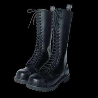 20 Hole / Eye Ranger Boots Leather Army Skinhead Combat Para