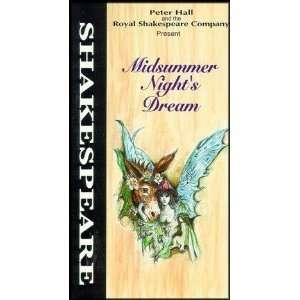 Midsummer Nights Dream Royal Shakespeare Co [VHS]: Various