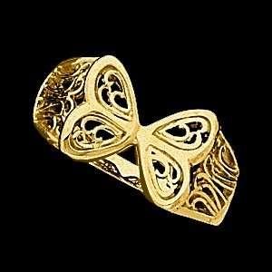 14K Yellow Gold Filigree Ring Jewelry