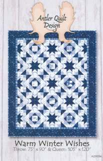 Antler Quilt Design Warm Winter Wishes quilt pattern