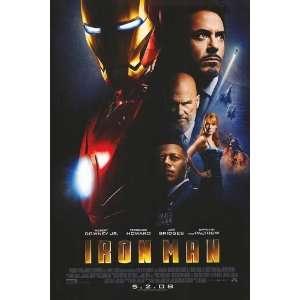 Iron Man Regular Original Movie Poster Two Sided 27x 40