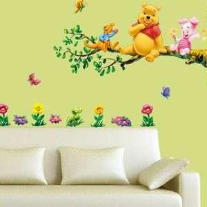 Winnie on the Tree Wall Sticker