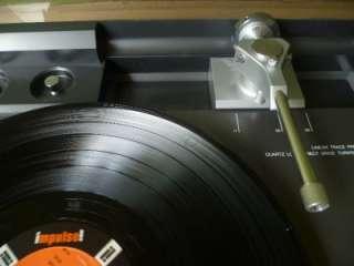Rare Aiwa LP 3000u Linear Tracking DD Turntable Flagship