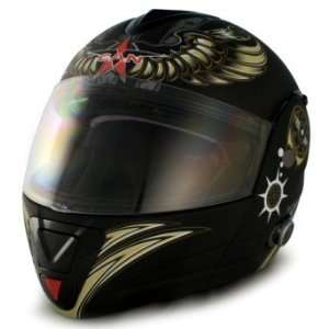 VCAN DOT Blinc Bluetooth Full Face Motorcycle Helmet (5