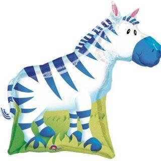 Animal Print Balloons Tiger, Leopard, Chetah, Zebra