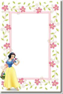 Disney Party Invitation Snow White Personalized