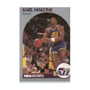 Karl Malone NBAHoops 292 Card 1990