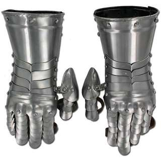 Medieval Knight Gauntlets Functional Armor Costume Gloves *New*