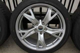 2011 NISSAN 370Z OEM WHEELS TPMS VOLK RAYS FORGED 19